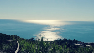Il mare visto dal Belvedere della città di Vasto