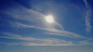 Sole tra le nuvole